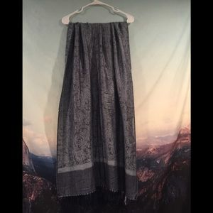 EUC Pashima Silk Blend scarf